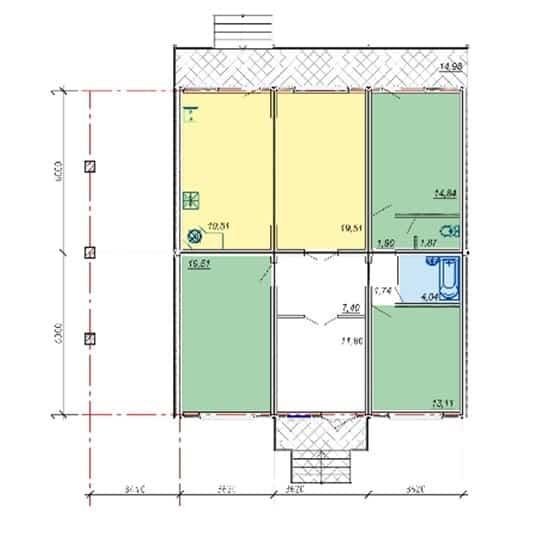 Дом 120,57 м2