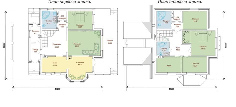 Дом 216,29 м2